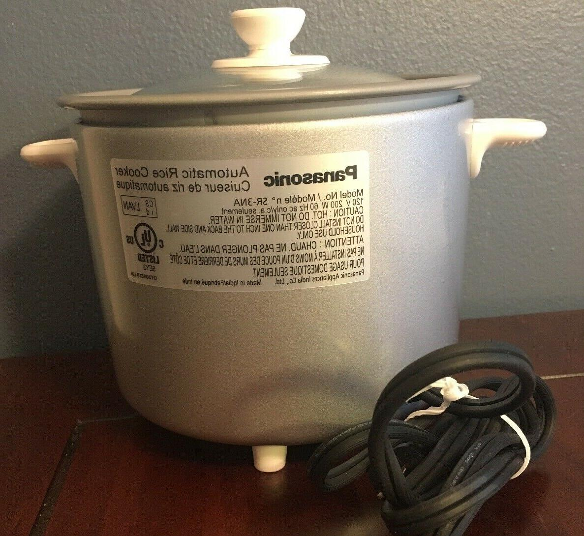 Panasonic 1.5-Cup Step Automatic Rice Cooker