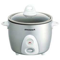 Panasonic Srg06fg Silver Rice Cooker Steamer 3.3cup Non Stic
