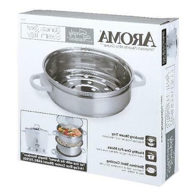 Stainless Steam Tray for Aroma Simply Stainless 14-Cup  Rice
