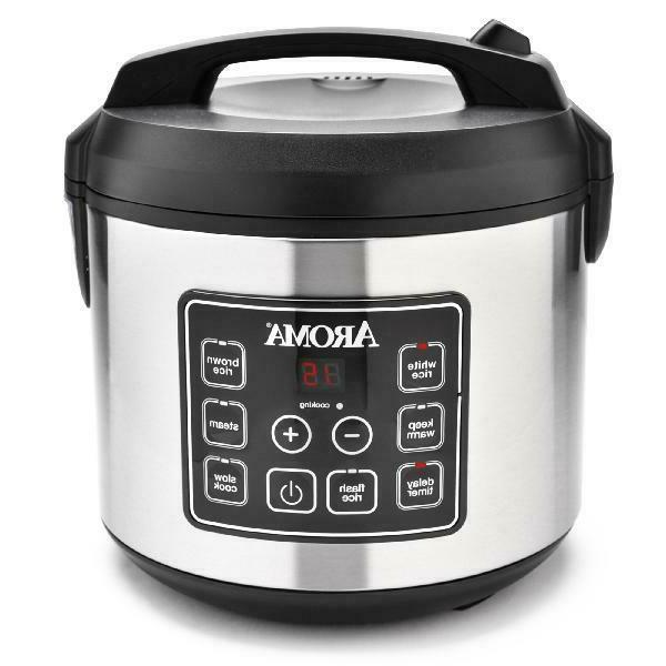 stainless steel 20 cup programmable rice cooker
