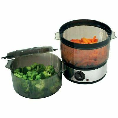 Stainless Food Steamer Cooker Quart Tray