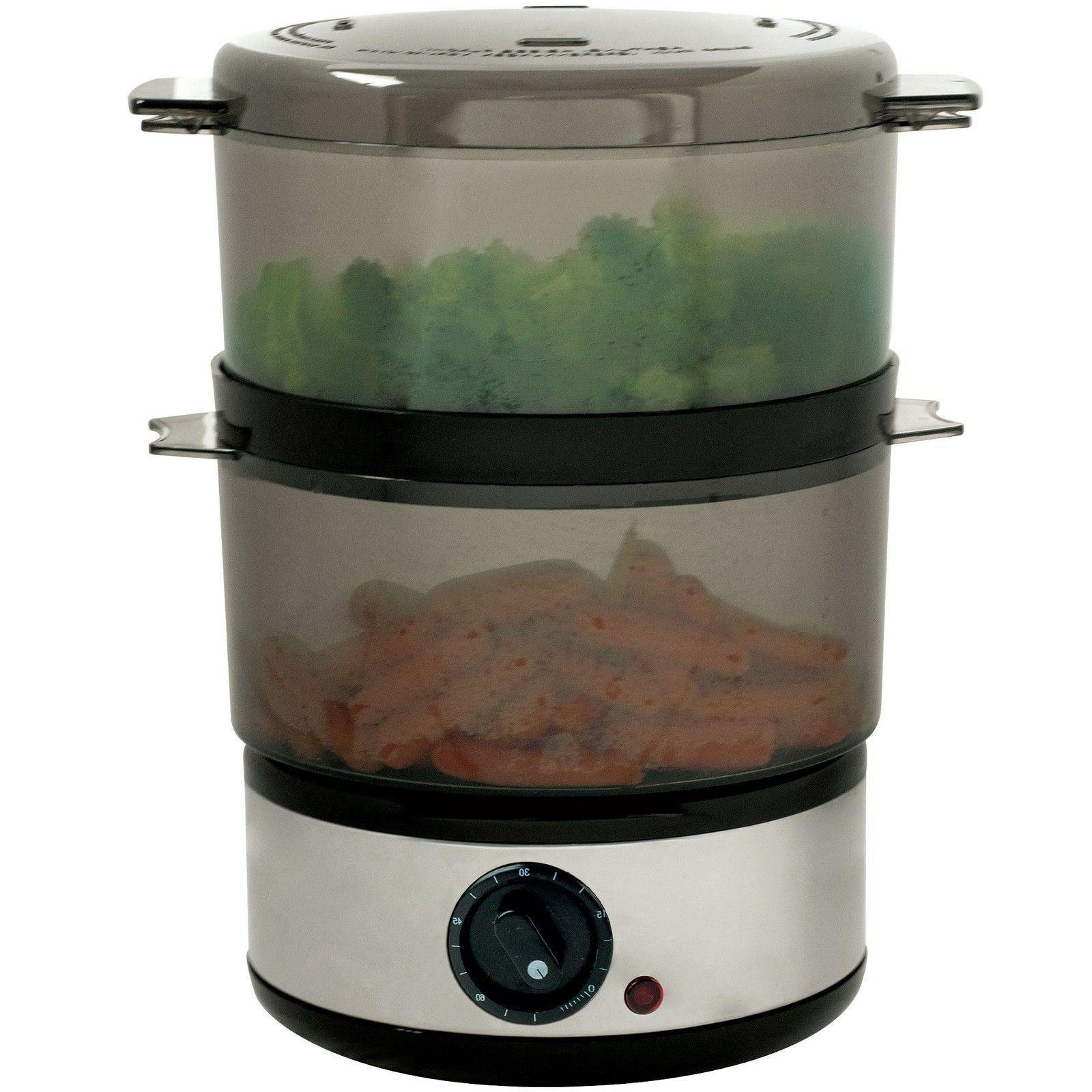 400 Steel Food Steamer - Quart cooking Healthy