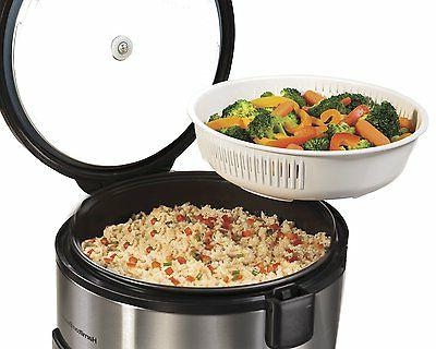 Hamilton Stainless Rice Cooker