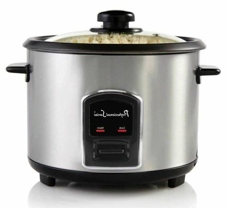 Stainless Steel Rice Professional Series 20-Cup