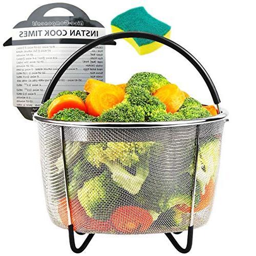 steamer basket 6 qt 8