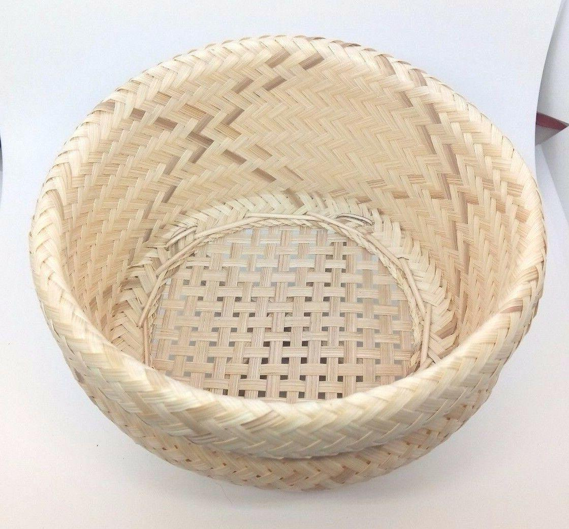 sticky rice steamer 17cm thai bamboo basket