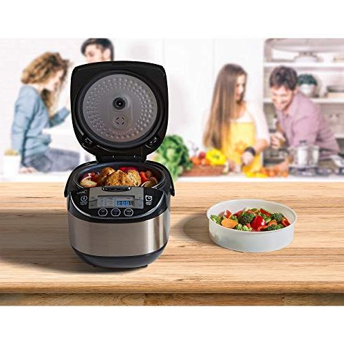 Midea Quart 8-in-1 TasteMaker , Black