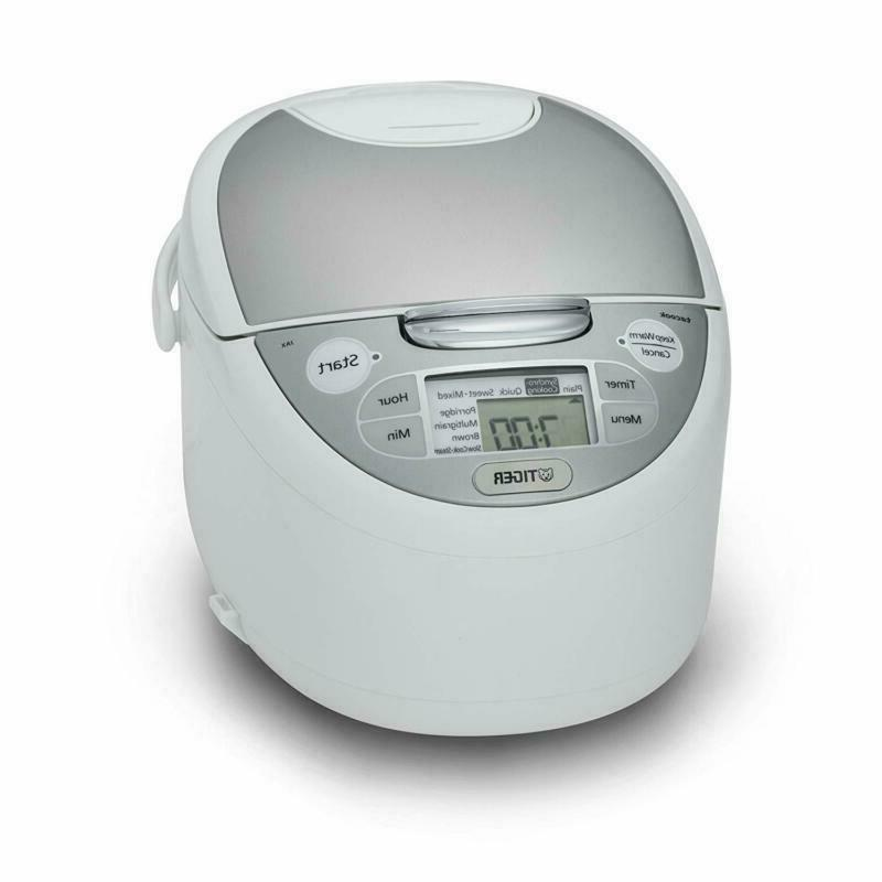Tiger Jax Wy 5.5 Cup Uncooked Micom Rice Cooker  Warmer Stea
