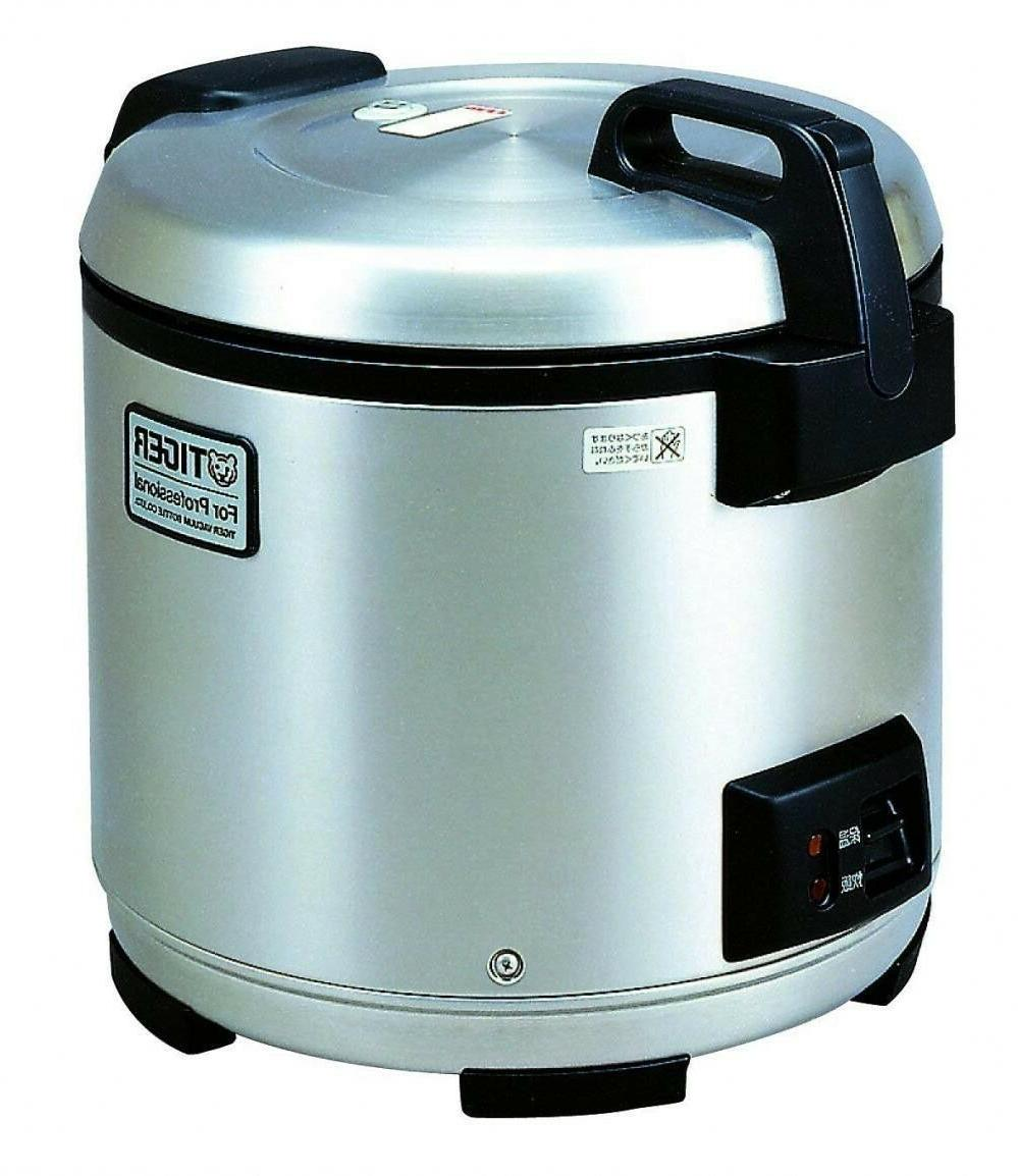 Tiger JNO-A36U 20 Cup Stainless Steel Commercial Pro Rice Co
