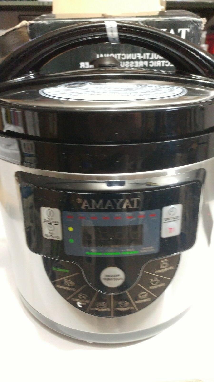Tayama TMC-60XL 6 8 in Function Pressure Qt, -