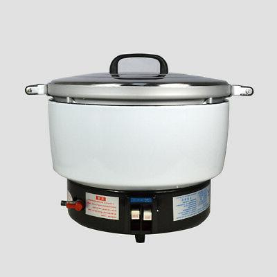 Natural Gas Commercial Rice Cooker 50 Cups 10L Capacity 2.8K
