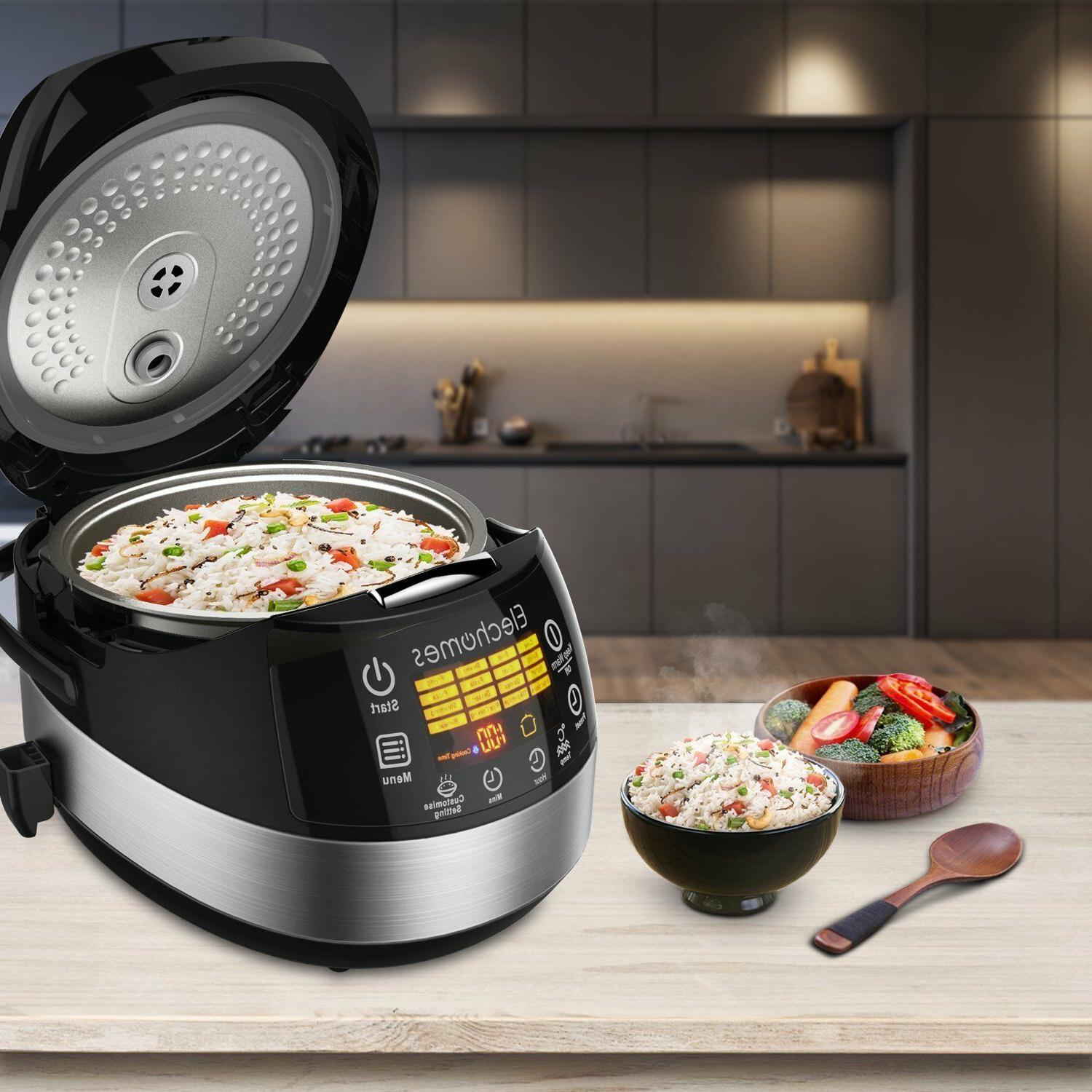 LED Touch Rice Cooker - Elechomes CR502 10 Rice