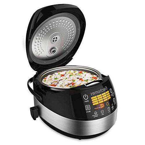 touch control rice cooker
