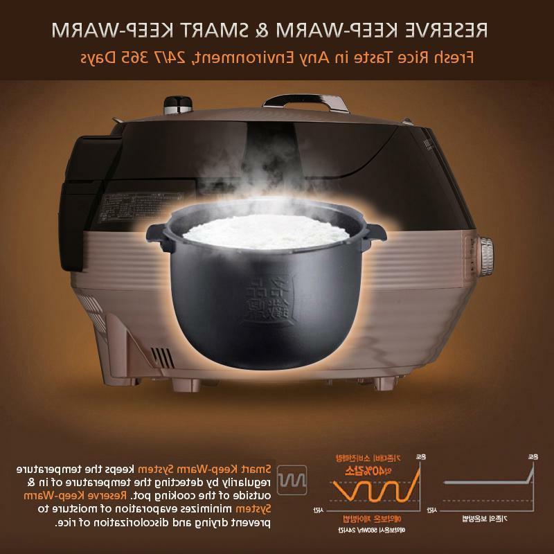 Cuchen IH Pressure Cooker CJH-PA1002iC 10cup w gift