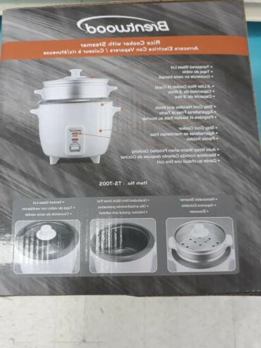 Brentwood 4-Cup Cooker - White W