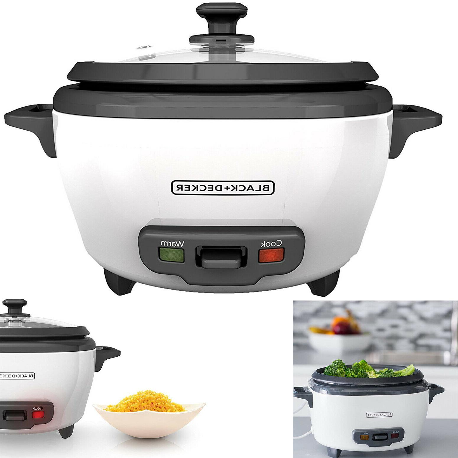 uncooked rice cooker and food steamer 6