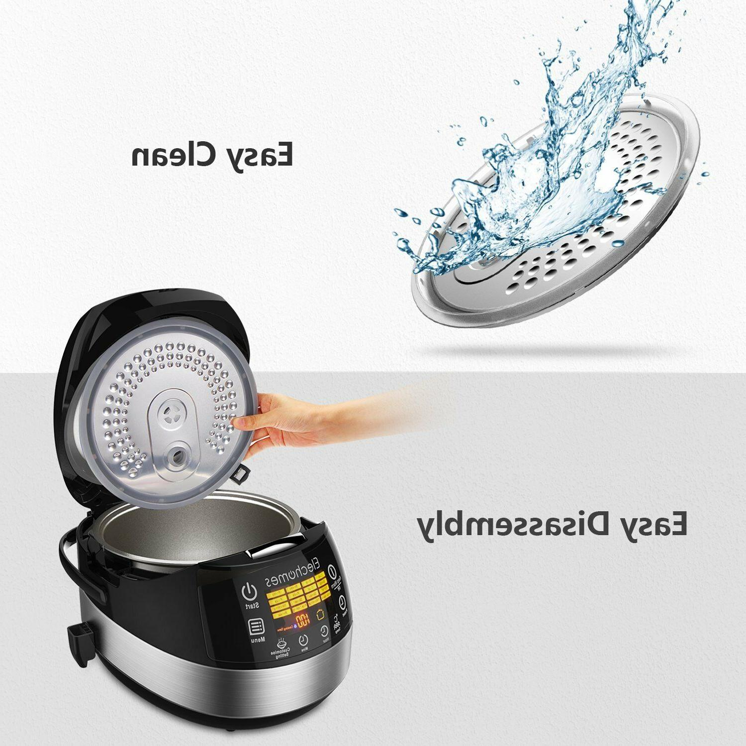 Upgrade LED Touch Rice & Warmer 16 Function