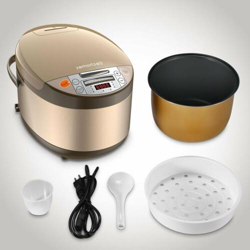 US Rice Smart w/ Steamer&Rinse 5L Liters