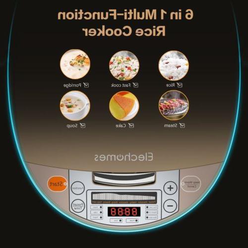 Smart w/ Steamer&Rinse 1.8 Liters