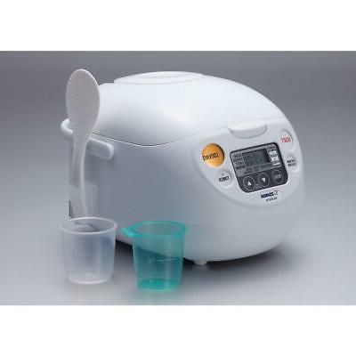 Zojirushi Rice Cooker Non-Stick Timer 5-Cup White