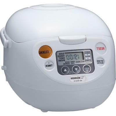 rice cooker warmer non stick interior built