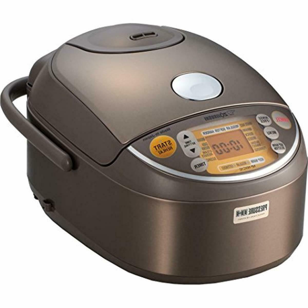 zojirushi induction heating pressure rice cooker warmer