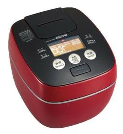 Made in Japan! TIGER Pressure IH Rice Cooker JPB-W10W Red Ne