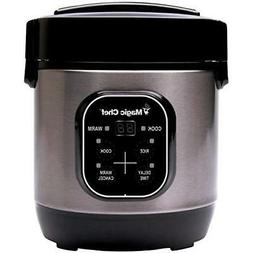 MAGIC CHEF MCSRC03ST Magic Chef 3-Cup Stainless Steel Rice C
