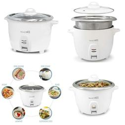 Maxi-Matic Erc-2010 Electric Rice Cooker With Stainless Stee