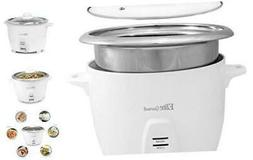 Maxi-Matic ERC-2020 Electric Rice Cooker with Stainless Stee