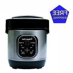 Magicchef Mcsrc03St Rice Cooker 3 Cup Digital
