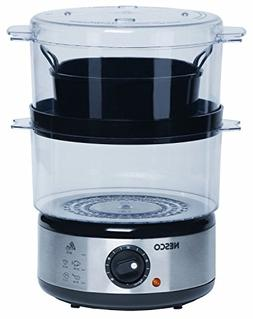 Nesco Metal Ware St-25 5 Quart 2 Tray 400 Watt Food Steamer