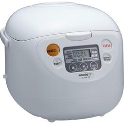 Micom 10-Cup Cool White Rice Cooker And Warmer With Built-In