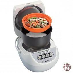 Micom Rice Cooker 5.5 Cup Tiger Corporation JBV-A10U-W Food