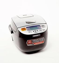 Zojirushi Micom Rice Cooker and Warmer 3Cup Silver Black