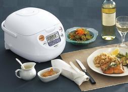 Zojirushi  Micom Rice Cooker & Warmer, NS-WAC10-WD 5.5-Cup