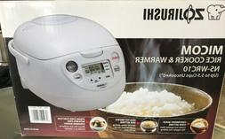 Zojirushi Micom Rice Cooker & Warmer NS-WRC10