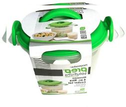 microwave 6 cup rice cooker 4pc set