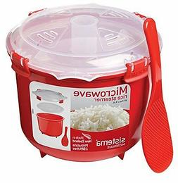 Sistema Microwave Cookware Rice Steamer, 87.2 Ounce/ 10.9 Cu
