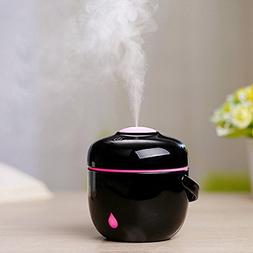 Coerni 230ml Mini Cute Rice Cooker Shape USB LED Glowing Hum