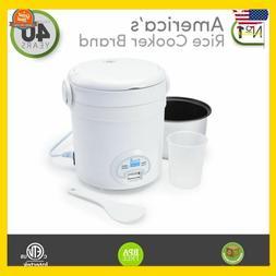 Mini Rice Cooker Small Non Stick Compact Personal Pot Dishwa