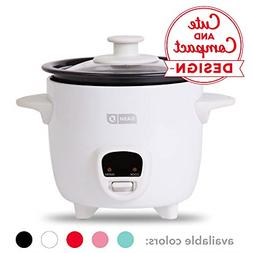 Mini Rice Cooker Steamer With Removable Nonstick Pot Keep Wa