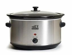 MaxiMatic MST-900V Elite Platinum Slow Cooker, 8.5-Quart, St