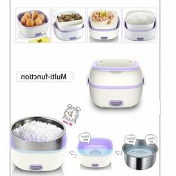 Multifunctional Electric Lunch Box Mini Rice Cooker Portable