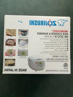 Zojirushi Neuro Fuzzy NS-ZCC10 5.5-Cup Rice Cooker