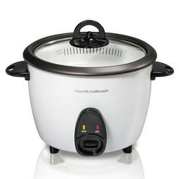 NEW! HAMILTON BEACH 16-CUP RICE COOKER/ FOOD STEAMER
