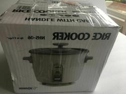 NEW Zojirushi 3 cup Automatic Rice cooker Model NHS-06 White