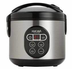 New 8 Cup Aroma Digital Rice Cooker Arc-914Sbd Food Steamer