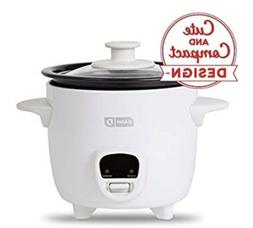 NEW Dash Mini 2-Cup Rice Cooker with Keep Warm Function - Wh