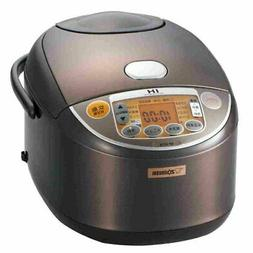 NEW ZOJIRUSHI IH rice cooker 10cup NP-VC18-TA Brown F/S